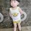 ชุดเซตเสื้อกล้ามลายน้องหมาสีเหลือง แพ็ค 5 ชุด [size 6m-1y-18m-2y-3y] thumbnail 4