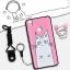 เคส VIVO V3 ซิลิโคน soft case สกรีนลายการ์ตูนน่ารักๆ พร้อมสายคล้องและแหวน ราคาถูก thumbnail 9