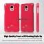 เคส Galaxy Note 4 แบรนด์ Mercury (Goospery) Jelly Case สีชมพูเข้ม thumbnail 2