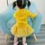 เสื้อ+กระโปรง สีเหลือง แพ็ค 5 ชุด ไซส์ 7-9-11-13 thumbnail 6