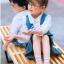 ถุงเท้าสั้น คละสี แพ็ค 10คู่ ไซส์ XL (อายุประมาณ 9-12 ปี) thumbnail 5
