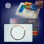 บัตรทาบ บัตรมายแฟร์การ์ด 1 K. บัตรพลาสติกสีขาว thumbnail 1