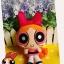 Powerpuff Girls - Blossom plush doll บลอซซั่มสาวน้อยพาวเวอร์พัฟเกริ์ลชุดส้ม thumbnail 1