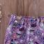 ชุดเซต 3 ชิ้นลายฮัลโลวีนสีม่วง แพ็ค 3 ชุด [size 6m-18m-2y] thumbnail 7