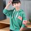 เสื้อคลุม สีเขียว แพ็ค 5 ชุด ไซส์ 120-130-140-150-160 (เลือกไซส์ได้) thumbnail 3