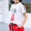 เสื้อ+กางเกง สีแดง แพ็ค 6 ชุด ไซส์ 110-120-130-140-150-160 (เลือกไซส์ได้) thumbnail 5