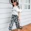 เสื้อ+กางเกง สีดำ แพ็ค 5 ชุด ไซส์ 120-130-140-150-160 (เลือกไซส์ได้) thumbnail 9