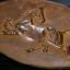 แผ่นโลหะปั๊มนูน ลายม้า อาชาผยอง ของเก่า สวยงาม thumbnail 8