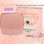 No.8958-1 แป้งพัฟ Pearl Whitening Concealer Powder Foundation เบอร์1 เนื้อแมทต์ thumbnail 2