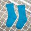 ถุงเท้ายาว สีน้ำเงินเข้ม แพ็ค 12 คู่ ไซส์ M (ประมาณ 3-5 ปี) thumbnail 1
