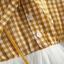 ชุดเดรสแขนยาวลายสก็อตสีเหลืองพร้อมสายสะพาย แพ็ค 4 ชุด [size 6m-1y-18m-2y] thumbnail 5