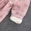ชุดเดรสแขนยาวสีชมพูลายน้องแมว (ผ้าหนาค่ะ) [size 6m-1y-2y-3y] thumbnail 12