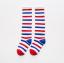 ถุงเท้ายาว สีแดง+ขาว+น้ำเงิน แพ็ค 10 คู่ ไซส์ S (อายุ 1-3 ปี) thumbnail 1