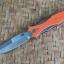 RHK Maximus Bayonet Grind Stonewash Orange G10