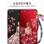 เคส VIVO Y71 ซิลิโคนแบบนิ่ม สกรีนลายผู้หญิงและดอกไม้ สวยงามมากพร้อมสายคล้องมือ ราคาถูก (ไม่รวมแหวน) thumbnail 2