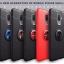 เคส Samsung J8 2018 เคสยางซิลิโคนนิ่ม ผิวเรียบ มีแหวนสีเมทัลลิค สวยๆ สามารถกางออกและพับเก็บได้ thumbnail 1
