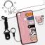 เคส VIVO V3 ซิลิโคน soft case สกรีนลายการ์ตูนน่ารักๆ พร้อมสายคล้องและแหวน ราคาถูก thumbnail 7