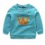 เสื้อ สีน้ำเงิน แพ็ค 6 ชุด ไซส์ 90-100-110-120-130-140 thumbnail 1