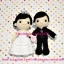 ตุ๊กตาแต่งงาน เจ้าบ่าวเจ้าสาว 9 นิ้ว แบบ4 thumbnail 2