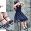 รองเท้าเด็กแฟชั่น สีดำ แพ็ค 5 คู่ ไซต์ 26-27-28-29-30 thumbnail 7