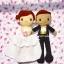 ตุ๊กตาแต่งงาน เจ้าบ่าวเจ้าสาว 9 นิ้ว แบบ1 thumbnail 3