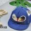 หมวก สีน้ำเงิน แพ็ค 5ใบ ไซส์รอบศรีษะ 48cm thumbnail 2