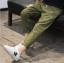 กางเกง สีเขียว แพ็ค 5 ชุด ไซส์ 120-130-140-150-160 (เลือกไซส์ได้) thumbnail 3
