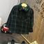 เสื้อ (ด้านในมีขน) สีเขียว แพ็ค 5 ชุด ไซส์ 7-9-11-13-15 thumbnail 1