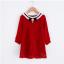 เสื้อ สีแดง แพ็ค 5ชุด ไซส์ 100-110-120-130-140 thumbnail 1