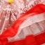 ชุดเดรสแขนยาวลายน้องแมวสีแดง แพ็ค 4 ชุด [size 3y-4y-5y-6y] thumbnail 5