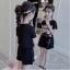 เสื้อ+กางเกง สีดำ แพ็ค 5 ชุด ไซส์ 120-130-140-150-160 (เลือกไซส์ได้) thumbnail 5