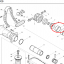#9 อะไหล่ สกัด เจาะพื้น มากีต้า Makita รุ่น HM1306 #9 (แท้-สินค้าไม่มีในสต้อก) thumbnail 1