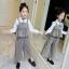 เสื้อตัวนอก+กางเกง (ไม่รวมเสื้อตัวใน) แพ็ค 5 ชุด ไซส์ 120-130-140-150-160 (เลือกไซส์ได้) thumbnail 6