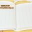 Cream MOMO Schedule Diary (Blue) thumbnail 8