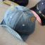 หมวกแก๊ปสียีนส์อ่อนแต่งหูแมว แพ็ค 3 ชิ้น thumbnail 1