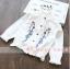 เสื้อ สีขาว แพ็ค 6 ชุด ไซส์ 80-90-100-110-120-130 thumbnail 1
