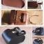 กระเป๋าหนังใต้อานวินเทจ : IRON JIA'S VINTAGE SADDLE BAGS ,IJ003 มีสีน้ำตาล thumbnail 2