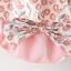 ชุดเซตเสื้อลายดอกไม้สีชมพู+กางเกงใน แพ็ค 4 ชุด [size 6m-1y-18m-2y] thumbnail 5