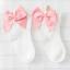 ถุงเท้าสั้น สีขาวโบว์ชมพู แพ็ค 12 คู่ ไซส์ M (ประมาณ 3-5 ปี) thumbnail 1