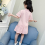 เสื้อ+กระโปรง สีขมพู แพ็ค 5 ชุด ไซส์ 110-120-130-140-150 (เลือกไซส์ได้) thumbnail 4
