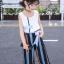 เสื้อ+กางเกง สีฟ้า แพ็ค 6 ชุด ไซส์ 110-120-130-140-150-160 (เลือกไซส์ได้) thumbnail 2