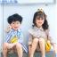 ถุงเท้าสั้น คละสี แพ็ค 10คู่ ไซส์ M (อายุประมาณ 3-5 ปี) thumbnail 4