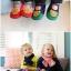 รองเท้าใส่ในบ้านลายหมีสีชมพู แพ็ค 3 คู่ [size 16.5-19] thumbnail 3