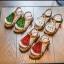 รองเท้าเด็กแฟชั่น สีเขียว แพ็ค 5 คู่ ไซต์ 21-22-23-24-25 thumbnail 5