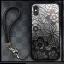 Iphone X เคสลายลูกไม้มีสายคล้องข้อมือ thumbnail 3