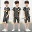 เสื้อ+กางเกง สีดำ แพ็ค 5 ชุด ไซส์ 130-140-150-160-170 (เลือกไซส์ได้) thumbnail 1