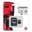 เมมโมรี่ การ์ด Kingston Memory Micro SD Card Class 10 - 32GB thumbnail 1