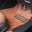 พรมปูพื้นรถยนต์ 6D honda accord 2017 สีน้ตาลอ่อน + ท้าย thumbnail 2