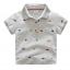 เสื้อ สีเทา แพ็ค 5 ชุด ไซส์ 100-110-120-130-140 thumbnail 1