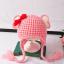 หมวก สีชมพูแพ็ค 5ใบ ไซส์ 1-3 ปี รอบศรีษะ17 * 20 ซม thumbnail 1